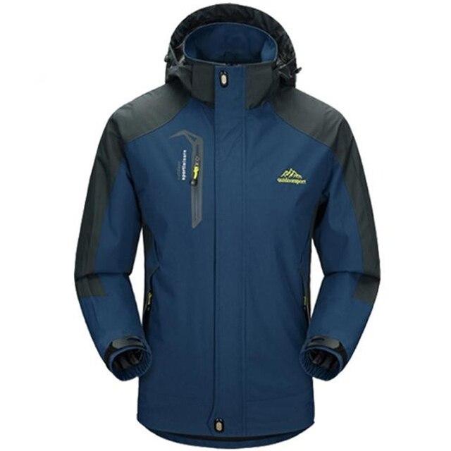 5XL ชายเสื้อกันน้ำ Hooded Breathable Mens Jackets และ Coats ฤดูใบไม้ผลิฤดูใบไม้ร่วง Outwear Windbreaker Coat ชายเสื้อผ้า