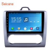 Seicane 10.1 2 DIN Android 6.0 GPS Navigation Touchscreen Quad core Car Radio for 2004 2011 Ford Focus Exi AT support DVR OBD