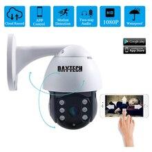 DAYTECH, cámara IP WiFi 1080P, impermeable para exteriores, CCTV, vigilancia del hogar, red ONVIF 2MP, Monitor de grabación P2P (H09)