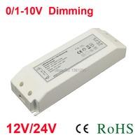 DC 12V 24V Power supply electronic Lighting transformer 220V 12Volt Adapter Dimmable LED Driver 0 10V alimentation 20W 30W Strip