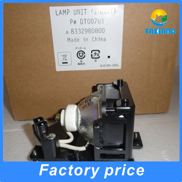 Original DT00701 Projector lamp with housing for Hitachi CP-RS56+ CP-RS57 CP-RX60 CP-RX60Z CP-RX61 CP-RX61+ PJ-LC7 projectors original projector lamp for hitachi cp hx1098 with housing