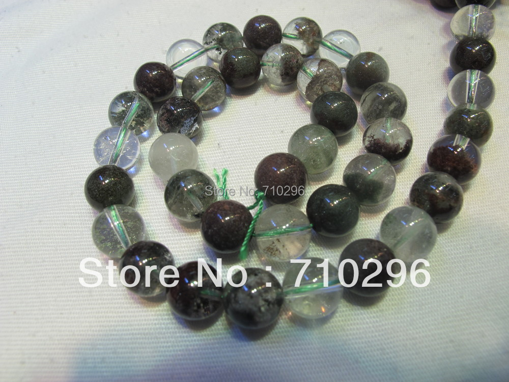 Natural Green Phantom Crystal 10mm Semi everlast Crystal Beads DIY Bracelets.40 cm/string buy mens string bracelets