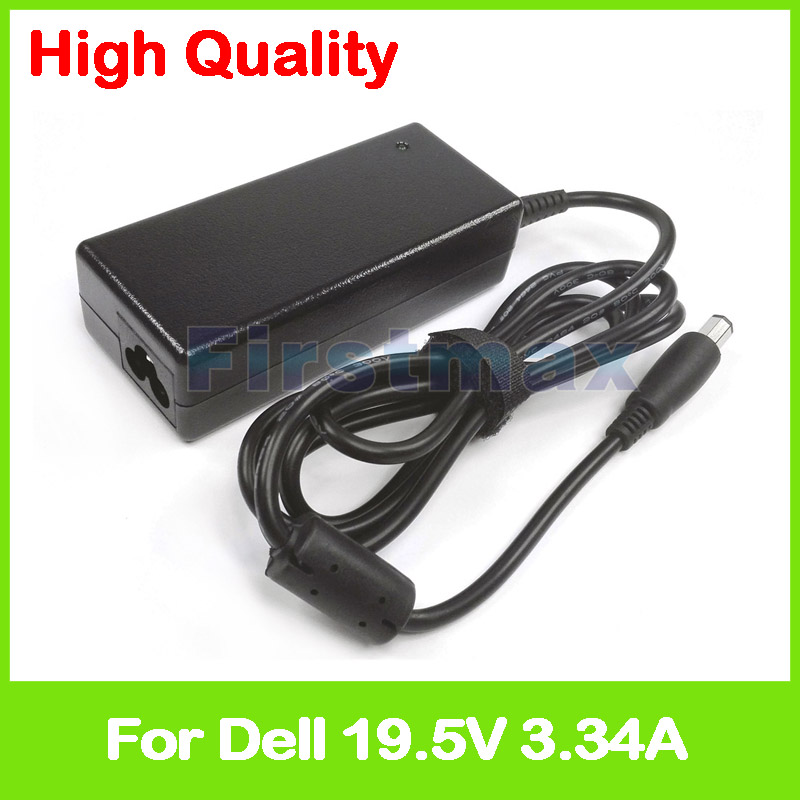 19.5V 3.34A AC power adapter for Dell laptop charger ADP-65AH B DA65NS4-00 HR763 LA65NS2-00 NX061 PA-1650-02DW PA-21 PP41L RM617