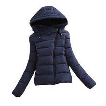 2016 New Winter Fashion Cotton Jacket Women Korean Short Down Padded Jacket Thick Warm Big yards