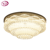 Youlaike Modern Crystal Chandelier For Living Room Luxury Foyer Crystal Light Fixtures Kitchen LED Lustres De