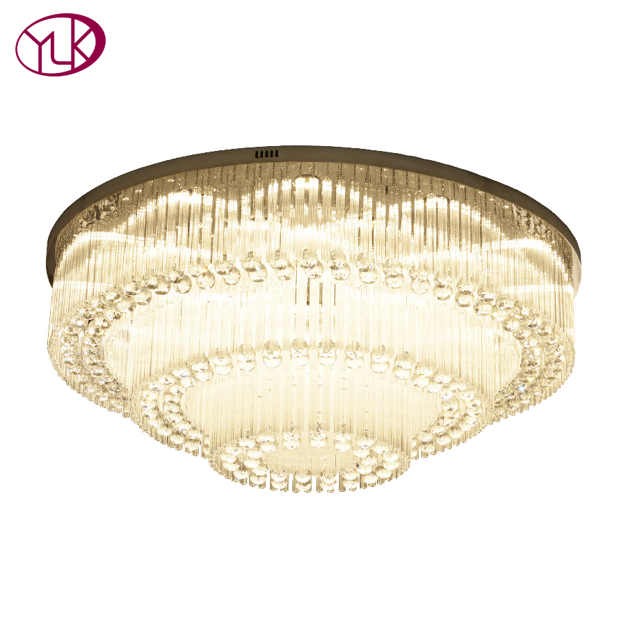 Youlaike Modern Crystal Chandelier For Living Room Luxury Foyer Crystal Light Fixtures Kitchen LED Lustres De Cristal стул afina polly shf 01 r