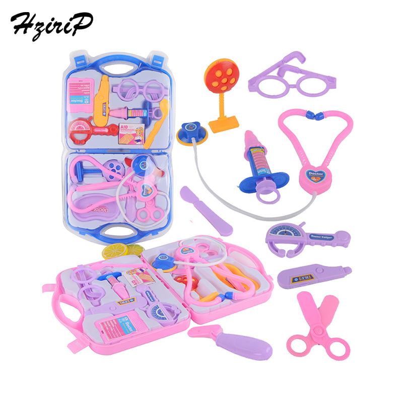 HziriP New Hot Sale Childrens Doctor Toy Set Kids Educational Simulation Pretend Play Classic Toys Nurse Roleplay Toy Sets Gift