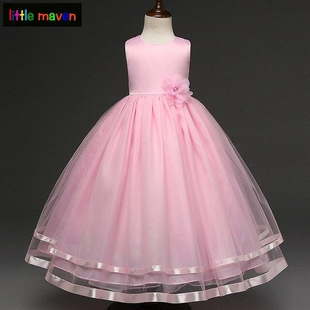e3707d3b65b14 4-12 ans filles robe formelle programme de mariage Festival robe de bal  enfants enfants