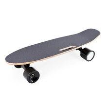 Chegada skate elétrico portátil placa de skate elétrico com controle remoto handheld sem fio para adultos & adolescentes