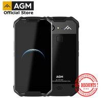 Официальный AGM X2 SE Android 7,1 прочный смартфон 6 + 64G 5,5 AMOLED Экран IP68 Водонепроницаемый 6000 Max две sim карты 16,0 Мп фронтальная камера