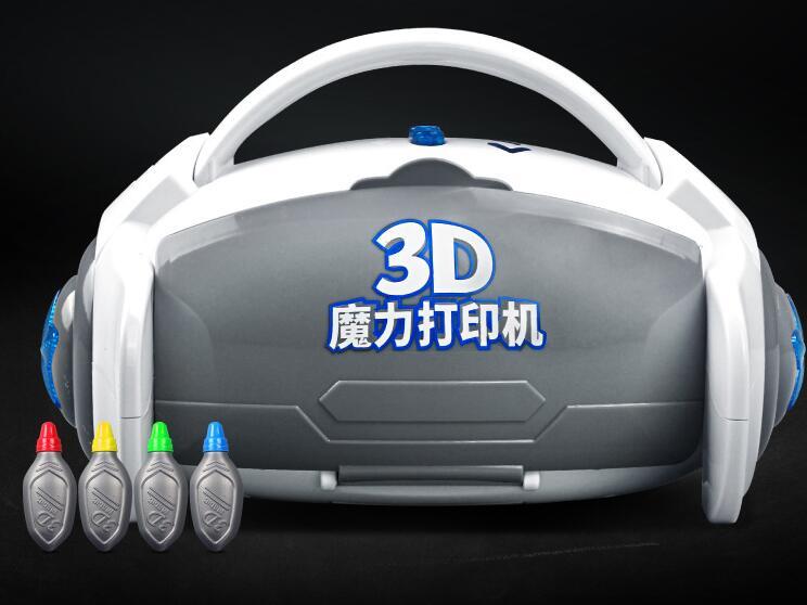 3D magique imprimante machine jouets cadeau d'anniversaire cadeau puzzle stéréo peinture
