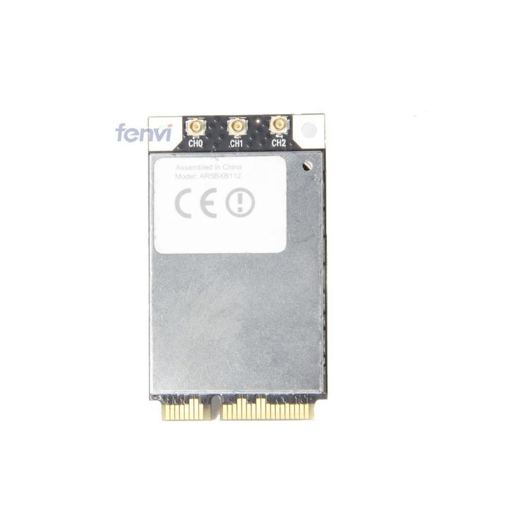 Atheros AR9380 AR5BXB112 Dual Band 450 Mbps Wifi Mini PCI-E carte sans fil pour Apple 802.11a / b / g / N Wlan S / N C86214300RHCCV4AB