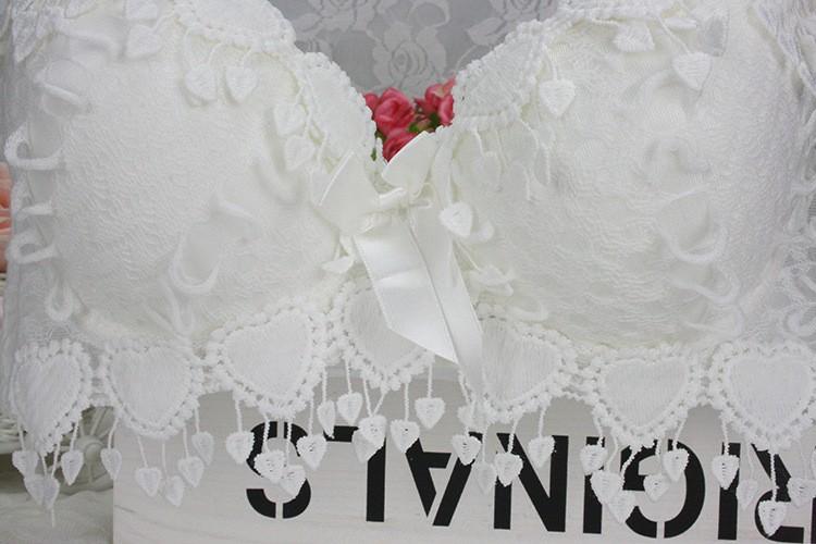 Hot Sale Women Underwear Set Cotton Bra Panty Set Brand Embroidery Tassel Sexy Lingerie Brassiere Sets Push Up bra brief sets 14