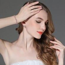 7 Colors  Rose Gold Color Chain Bracelet