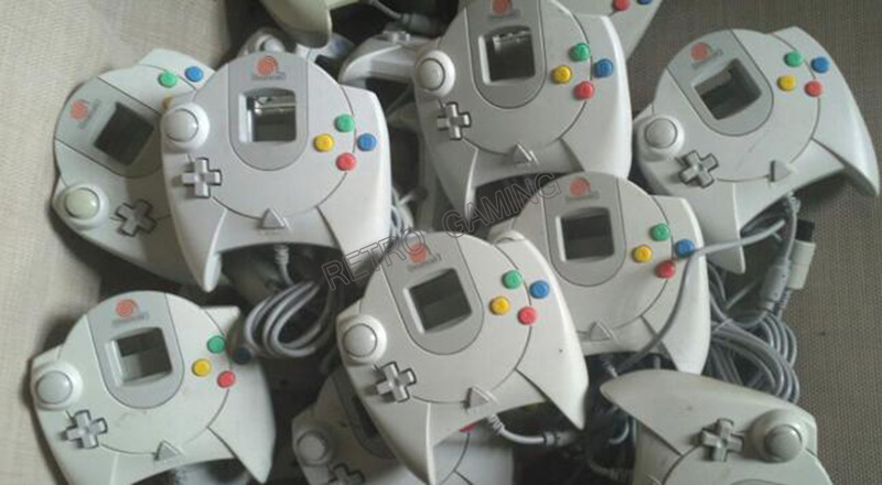 Free Shipping 1pcs Secondhand Original Dreamcast Gamepad  Joystick Used