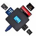 Горячая распродажа супер скорость 5Гб 8-Slot все в 1 USB 3.0 Multi чтения карт памяти для SD / SDHC / SDXC / MS / CF / XD / M2 / MicroDS / T-FLASH читать и писать и лучшие цены,памяти USB 3.0,USB 3.0 мульти