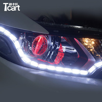 Tcart CAR Specific For for Peugeot 308 DRL Daytime Running Used for Peugeot drl turnlight Easy to Install free shipping