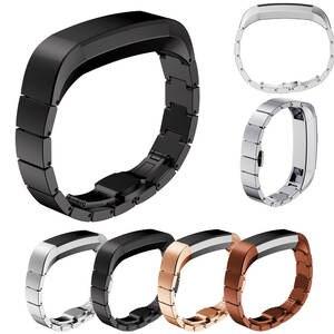 Watch-Band Wrist-Strap Link-Bracelet Sports for Smart-Watch Stainless-Steel