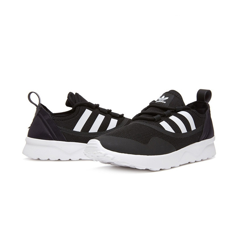 Official New Arrival Adidas Originals ZX FLUX Womens Skateboarding Shoes Sneakers Classique Comfortable