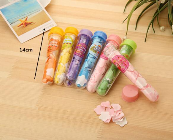 Fashion Hot Portable Tube Soap Petals For Travel Scented Soap Bath Flakes ChildHand Washingv Soaps