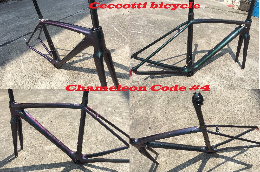 2018 NEW Chameleon colorcarbon road bike frame full carbon bicycle frameset cycling frames can diy color PF30 or bsa or bb30 spare part set motors propellers landing protectors motor blade for syma x5 x5c best seller factory price