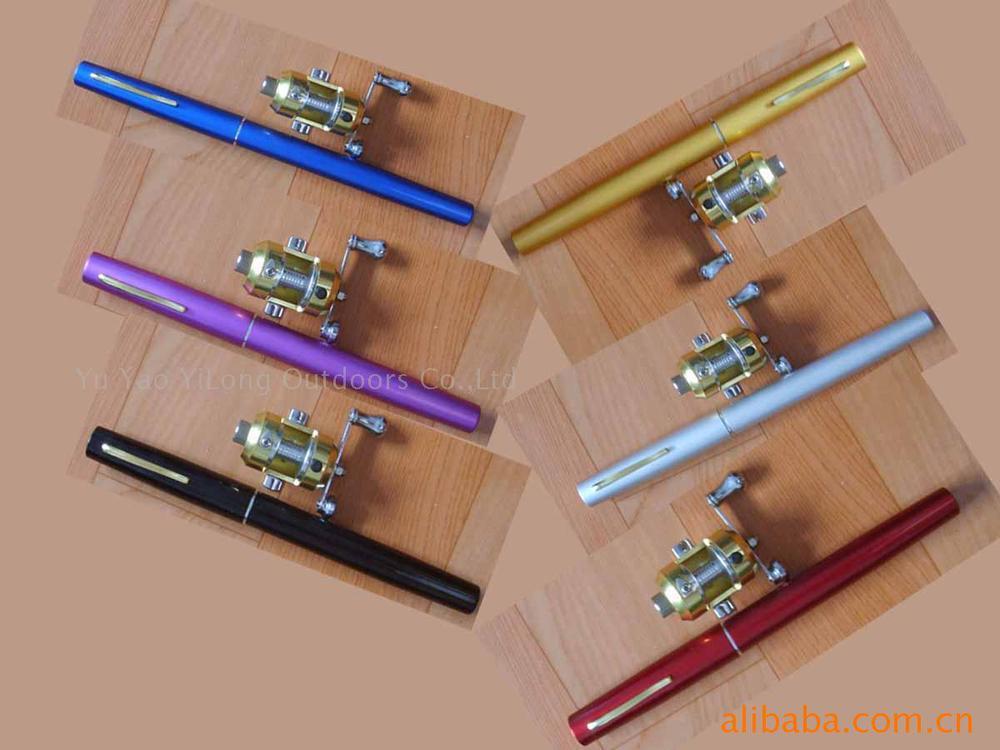 Whole Sale 100sets Lot 1m Pen Fishing Rod Pen Fishing W