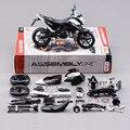 Лучшие детские DIY образовательные игрушки 1:12 новое металл KTM690 сборка модель мотоцикла игрушка