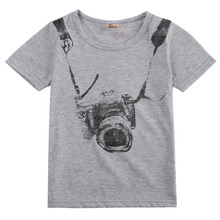 Baby Boys T-Shirts Casual Cotton Summer Clothes Kids T-Shirt Tops Short Sleeve Sportwear Outfits 1-Eight Year