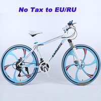 26inch Aluminum Alloy Mountain Bike 21 And 24 Speed Mountain Bicycle Double Disc Brakes Bike Ultra