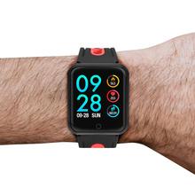 Smart watch sportowe IP68 P68 bransoletka fitness aktywny Tracker tętna Monitor ciśnienia krwi dla Ios Android Apple IPhone 6 7 tanie tanio Passometer Fitness tracker Uśpienia tracker Wiadomość przypomnienie Przypomnienie połączeń Pilot zdalnego sterowania
