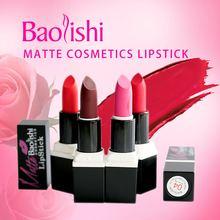 baolishi 6 matte color lipstick 2017 new arrival waterproof natural lip tint long-lasting lips brand makeup cosmetics