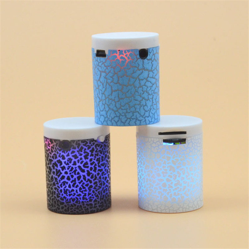 LEDwithout Bluetooth Speaker Mini Speakers Hands Free Portable Wireless Speaker TF Card USB Audio Music Player For Iphone Xiaomi