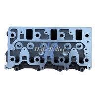 3LD1 3LD2  novedad  culata desnuda 8-97163401-3 para excavadora de motor Isuzu
