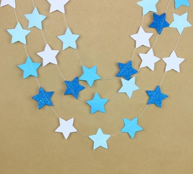 pack of 3 Twinkle Twinkle Little Star Garland Nursery Bunting Wall ...