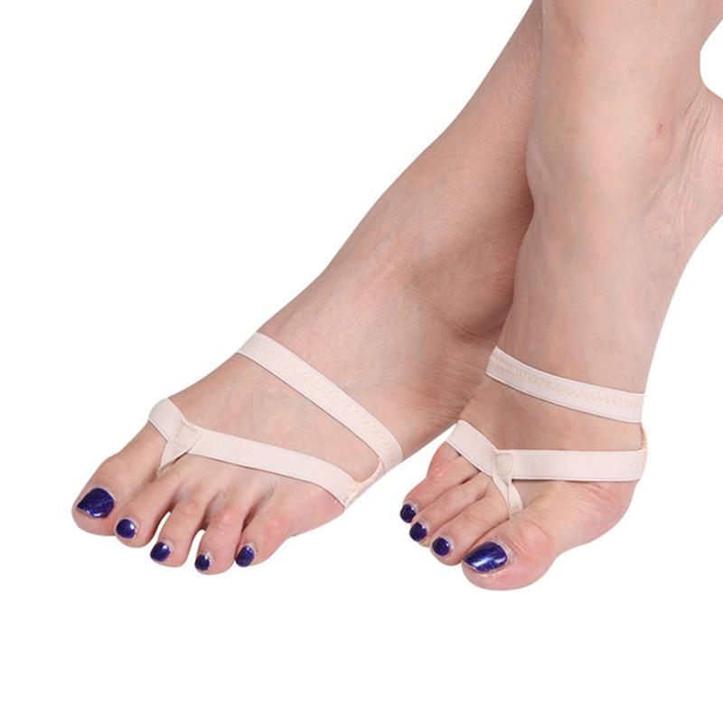 New 2018 Heel Protector Professional Ballet Dance Socks 1 Pair Belly Dance Foot Thong Toe Pad Dance Accessories
