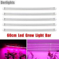 5 개 60 센치메터 빛 전체 스펙트럼 T8 튜브 주도 공장 램프 수경 시스템 실내 온실 성장 스트립 식물