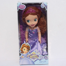 Sofia the First Princess Sofia Doll Figure Toys Action PVC Dolls For Girls 30cm Free Shipping Retail