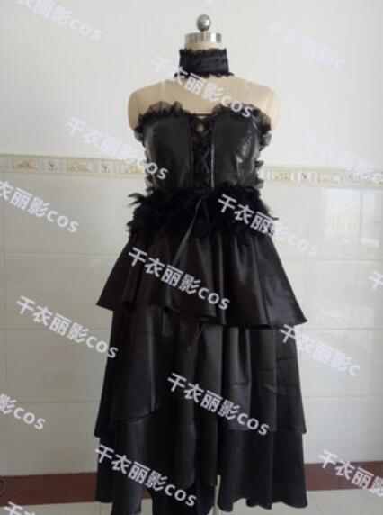 Puella Magi Madoka Magica Akemi Homura Rebellious Story Devil Demon Custom Size Uniforms Cosplay Costume Highly Reductive
