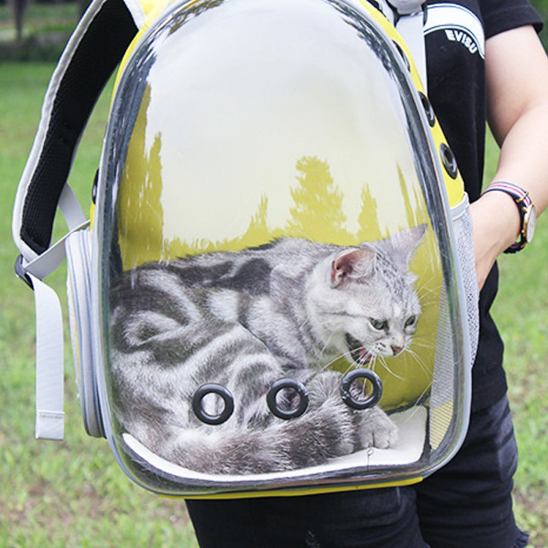 4 Colors Pet Travel Carrier Portable Backpack Products For Cats Small Dogs Breathable Design Space Capsule Cat carrying