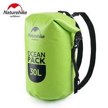 NatureHike Waterproof Backpack 20L 30L Outdoor Ultralight Camping Hiking Dry Organizers Drifting Kayaking Swimming Water bags