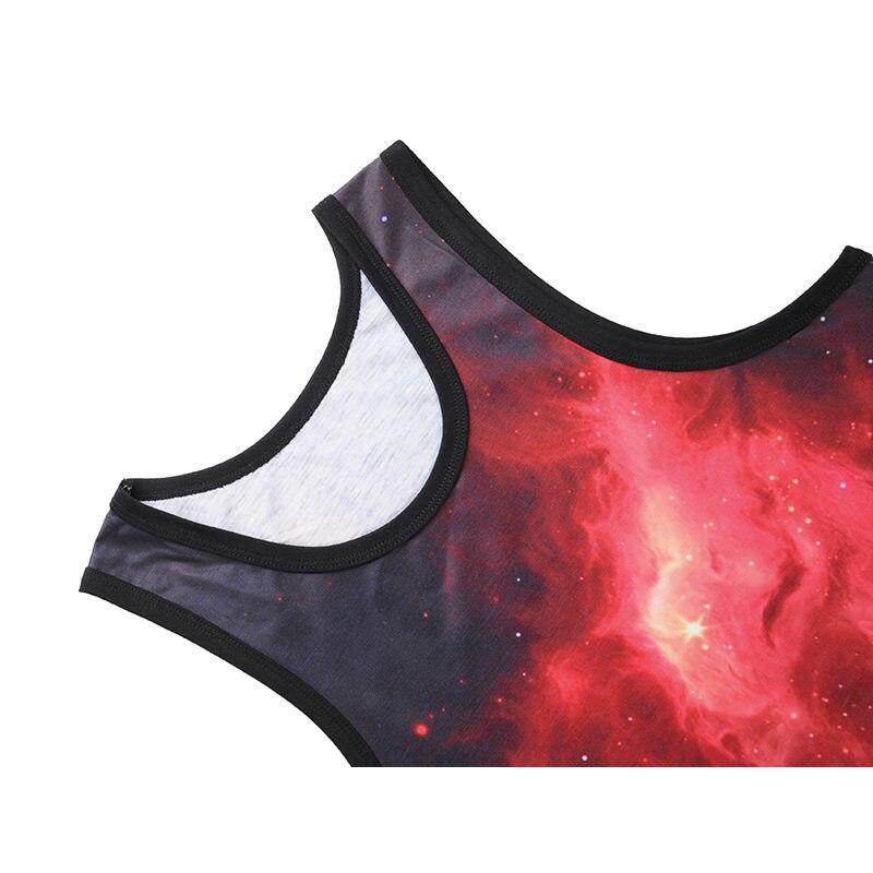 Mr.1991INC 3D print vests Mens bodybuilding waistcoat Vast starry sky printing tank tops Cool summer tops