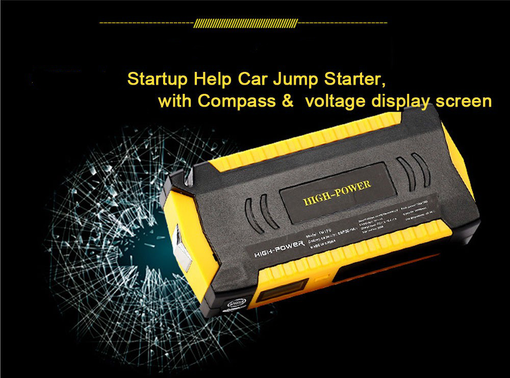Best Car Jump Starter 20000mAh 12V 4USB battery charger pack for auto vehicle starting And Laptop Power Bank Multi-funtion