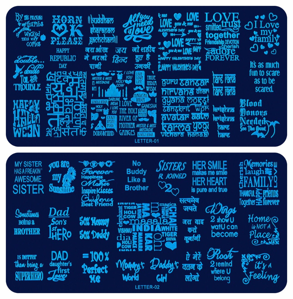 US $1.14 26% OFF ON SAle !! 6.5*12CM Nail Art Stamp Templates Manicure on letter of interest, letter to employees about change, letter background, letter format, letter of community service, letter of credit, letter business, letter texture, letter of resignation from employment, letter e crafts to make with preschoolers, letter font, letter a craft, letter layout, letter of recommendation for a teacher, letter from pastor to church, letter pattern, letter gift tags, letter requesting termination of services, letter page, letter writing,