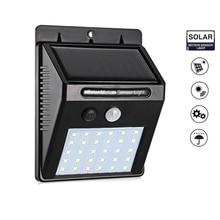 30/48 LED Solar light Solar Power PIR Motion Sensor Wall Light Outdoor Waterproof Energy Saving Street Garden Security Lamp stre недорого