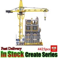 Лепин Creator 15031 4425 шт. строительство с крановые блоки кирпичи Просветите игрушки для детей Подарки brinquedos