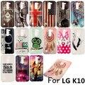 New Soft TPU IMD Pintado caso Para LG K10 k 10 carcaça do telefone Móvel dos desenhos animados capa Protetora para lg k10 shell