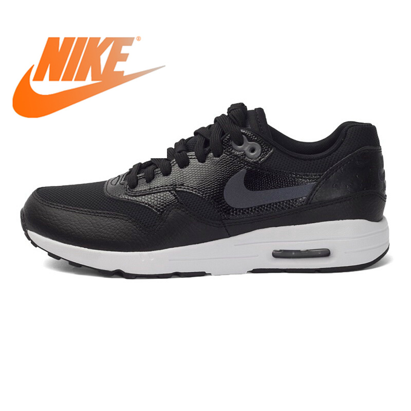 Оригинальные аутентичные NIKE Air Max 1 Низкий Топ DMX для женщин кроссовки Nike Женская обувь уличная прогулочная Удобная 881104