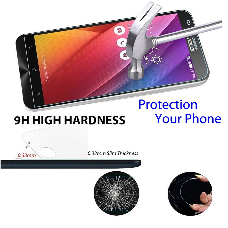 9H 2.5D Screen protector tempered glass FOR asus ZC550Kl zenfone max zc550kl pro Z010DA <font><b>zc</b></font> 550 kl zc550 <font><b>550kl</b></font> max pro case glas image