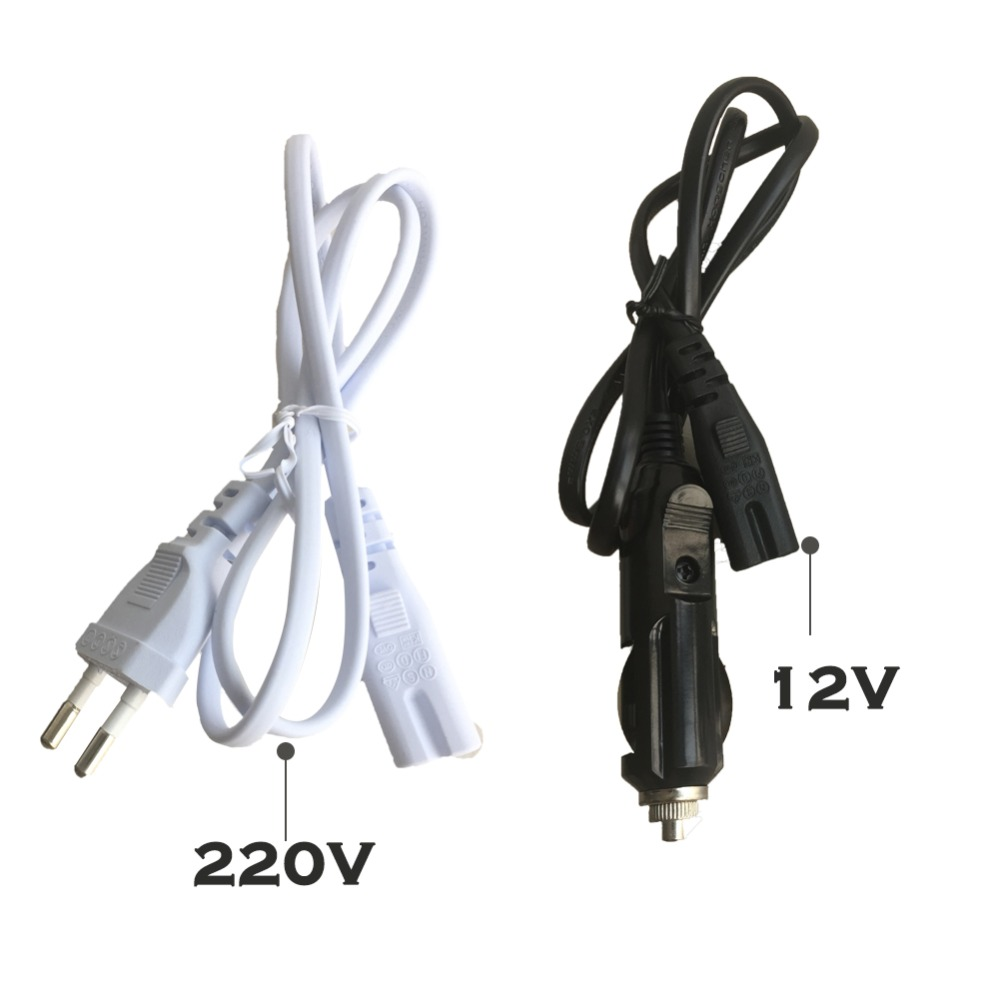 12V/220V Electric Heating Lunch Box Power Adapter Plug For Home And Car Ues