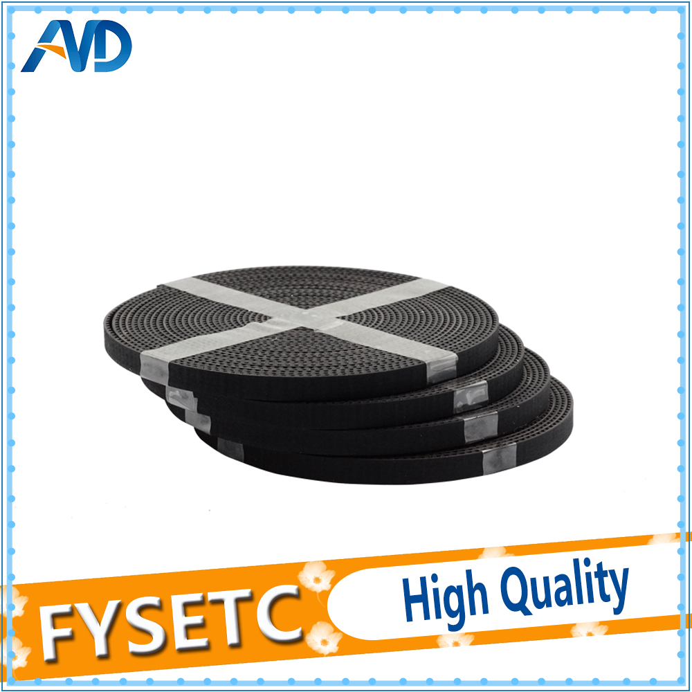 3D Printer Parts Accessory 2meter GT2-6mm Open Timing Belt Width 6mm pitch 2mm Rubber With Riberglass Core GT2 Belt Hermet Belt
